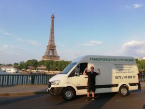 Transportservice in Paris