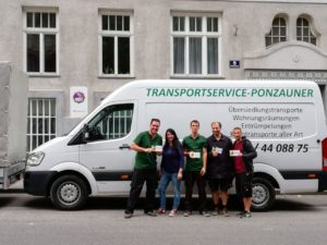 Transportservice in Wien